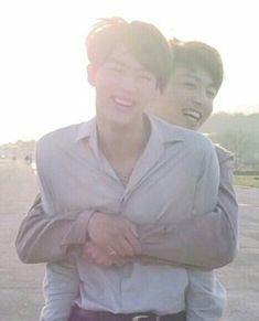 """jungkook is the happiest when he's hugging seokjin, a tiny thread Seokjin, Kim Namjoon, Jung Hoseok, Foto Bts, Bts Photo, Jungkook And Jin, Bts Bangtan Boy, Rap Monster, Jikook"