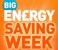 Big Energy Saving Week 2015! Find out what you can do to save the extra pennies this year!