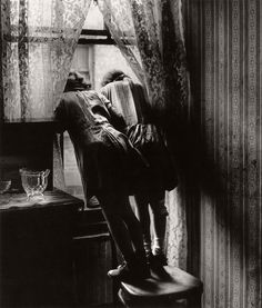 Bill Brandt. Girls looking out of a window, ca. 1930s. [::SemAp Twitter || SemAp::]