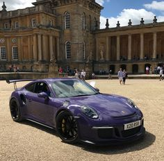 Porsche GT3 RS at Blenheim Palace for Cars at the Palace 2017