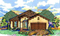 Mediterranean House Plan 64638 Elevation