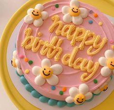 Pretty Birthday Cakes, My Birthday Cake, Pretty Cakes, Beautiful Cakes, Amazing Cakes, Birthday Cake Decorating, Flower Birthday Cakes, Cake Decorating Icing, Bolo My Little Pony