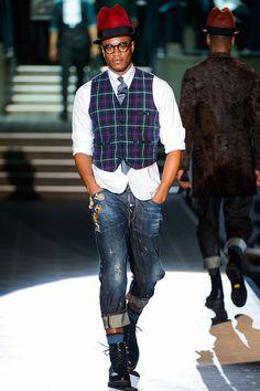 Dsquared2 Menswear, otoño-invierno 2013