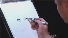 Drawing & Caricature Art : How to Draw Eyes in Caricatures, via YouTube.
