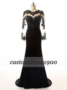 100% handmade beading/crystal evening by customdress1900 on Etsy