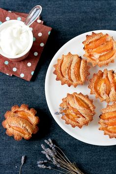 Apricot Lavender Brown Butter Tea Cakes by tartelette, via Flickr