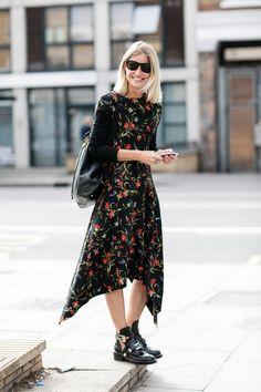 Street style at Fashion Week Spring-Summer 2017 London