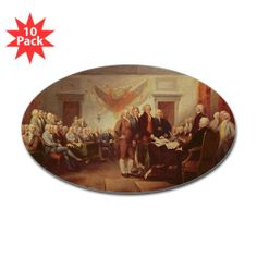 It's coming up! -   CafePress Independence, 4th July 1776, c.1817 oil on canvas Sticker Oval 10 pk - Standard / http://www.holidaygoodness.com/cafepress-independence-4th-july-1776-c-1817-oil-on-canvas-sticker-oval-10-pk-standard/
