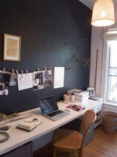 long bureau sur pinterest bureaux domicile partag s coin d 39 tudes et espaces de travail. Black Bedroom Furniture Sets. Home Design Ideas