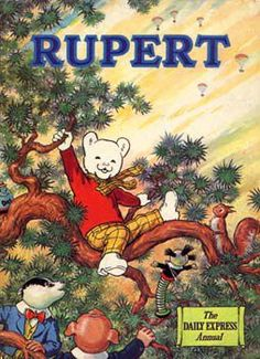 I absolutely loved RUPERT books. I always read the rhyming bit, not the long part.