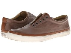 Frye Gavin Deck mens leather slip on shoes.