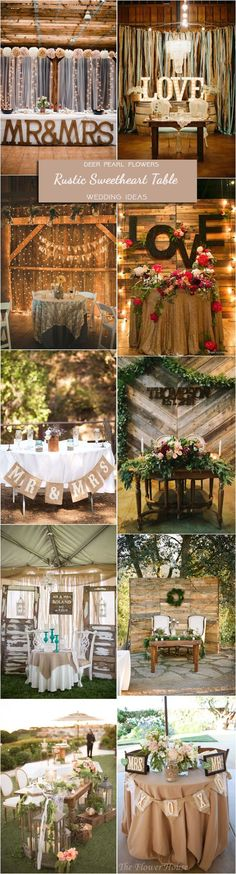 Country Wedding Decorations For Tables Blush - top 20 rustic country wedding sweetheart table ideas Country Wedding Gifts, Country Wedding Decorations, Table Decorations, Wedding Table, Wedding Reception, Wedding Ideas, Trendy Wedding, Wedding Stuff, Camp Wedding