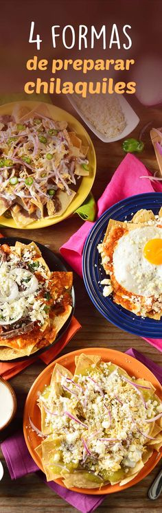 Try any of these 4 easy-to-prepare chilaquiles options. You can choose the one you like best to make a perfect breakfast, lunch or dinner. They are delicious, you will not regret it. Healthy Crockpot Recipes, Healthy Eating Recipes, Cooking Recipes, Mexican Kitchens, Mexican Dishes, Real Mexican Food, Mexican Food Recipes, Comida Tex Mex, Tortillas