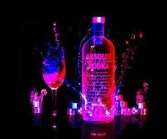 absolute vodka one of my favs! Absolut Vodka, Vodka Drinks, Smirnoff, Party Drinks, Party Party, Party Time, Alcoholic Drinks, Alcohol Aesthetic, Neon Aesthetic