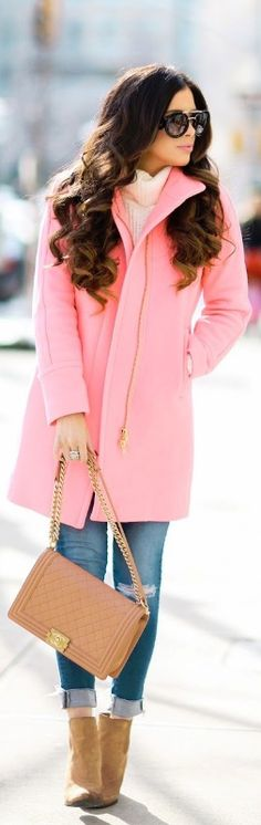 HOT PINK IN NYC / Fashion By The Sweetest Thing