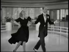 Fred Astair and Ginger Rogers to song by DORIS DAY  Paul Weston Orchestra - Mister Tap Toe (1952)