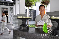 Accoglienza strepitosa presso lo Shinta Mani Resort di Siem Reap, un must go per i clienti di Cambogia Viaggi  #shintamani #siemreap #cambogiaviaggi