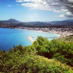La bahía de Javea Javea Spain, Alicante, Valencia, Villa, River, City, Places, Outdoor, Community