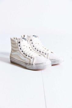 Vans Sk8-Hi Overwash Slim Zip Womens Sneaker - Urban Outfitters