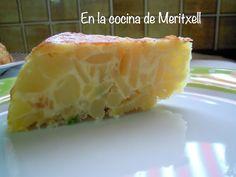 En la cocina de Meritxell: Tortilla de patatas Touch Advance