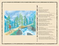 crossover to boy scouts card w/ poem