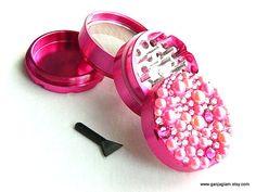Herb Grinder Hot Pink