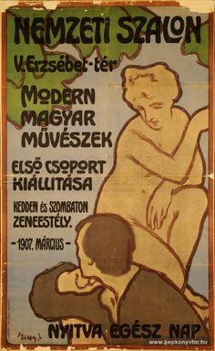 Vaszary János - Modern magyar művészek első csoport kiállítása, 1907