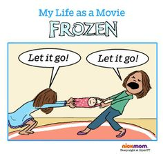Are You Fighting or Singing 'Frozen'? Haha Funny, Hilarious, Funny Stuff, Awesome Stuff, Funny Things, Frozen Let It Go, Laugh Of The Day, Wrestling Mom, Call My Mom
