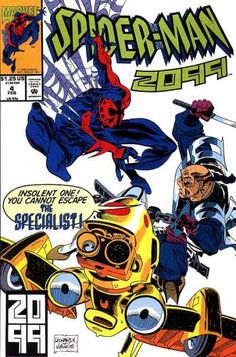 Spider-Man 2099 #4 (Feb. 1993)