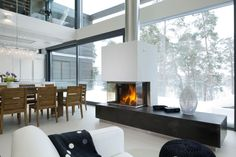Scandinavian Interior Design, Scandinavian Home, Modern Interior Design, Nordic Bedroom, Nordic Home, Cozy Nook, House Rooms, Room Inspiration, Living Room