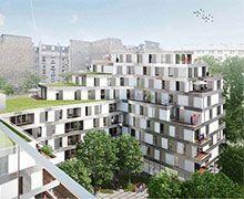 Le site d'un ancien hôpital parisien dédié au logement et à l'accueil des plus fragiles