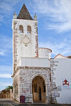 #Estremoz church bell's tower, #Alentejo, #Portugal.