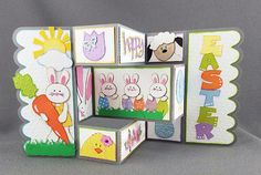 Handmade Pop Out Easter Card 3 by CraftyGalCards on Etsy