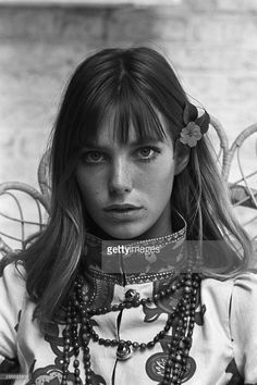 Jane Birkin And John Crittle In London. Angleterre, Londres, 28 ...