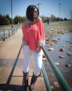 Fringe with benefits top-coral