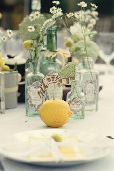 #lemons #tabledecor Dottie Photography  http://dottiephotography.co.uk/