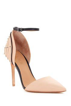 Hamden Ankle Strap Pump by L.A.M.B. on @HauteLook
