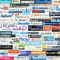 Logiciels ou applications en ligne gratuits pour travailler avec le numérique en cours.