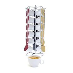 Swissmar Capstore Select Storage Rack for 18-Pack ** Insider's special review you can't miss. Read more  : Coffee Tea Espresso