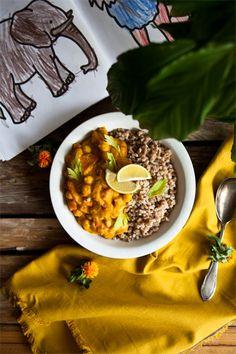 kichererbsen curry vegan rezept