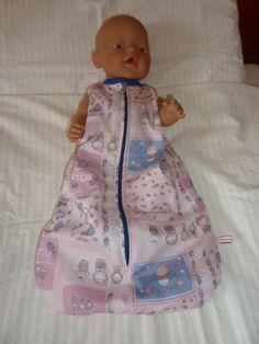 Slaapzak Baby Born 43 cm, eigen ontwerp