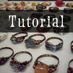 Download The Million-Ring Design Sewing Pattern | Jewelry and Beading…