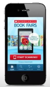 Scholastic Book Fair app Must advertise this for parents and teachers.