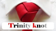 Tie A Necktie, Necktie Knots, Trinity Knot Tie, Types Of Tie Knots, Moon Wedding, Character Inspired Outfits, Crafty Craft, Make It Yourself, Crafts