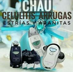 I use them I recommend them Amazing from the comfort of your home and with so so. Nu Skin, Beauty Skin, Hair Beauty, Galvanic Spa, Positive Phrases, Skin So Soft, Stretch Marks, Cellulite, Hair Loss