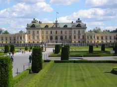 Sweden - Drottningholm Palace official residence of The King and Queen.