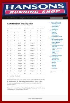 running room marathon training pdf