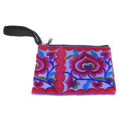 Hmong Embroidered Coin Purse - Purple - Global Groove - Fair Trade - #shopfairtrade #fairtrade #thisbluesea  Handmade by Hmong hill tribe women in Thailand this coin purse measures 6 inches x 4 inches.  Meet the Artisans  Global Groove Global Groove is a fair trade organization working with women by supporting and developing artisan co-ops in Thailand and Nepal. The Fair Trade industry is expanding and we are proud to be a part of a sustainable movement that is changing lives. We design…