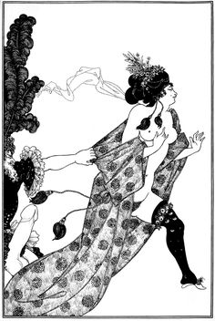 Cinesias Entreating Myrrhina to Coition - Aubrey Beardsley
