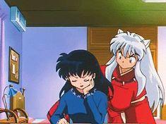 Animated gif about anime in InuYasha! Inuyasha Funny, Inuyasha Fan Art, Kagome And Inuyasha, Miroku, Kagome Higurashi, Blue Exorcist, Sinbad, Another Anime, I Love Anime